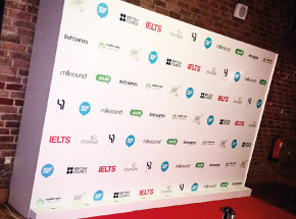 Step and Repeat Walls